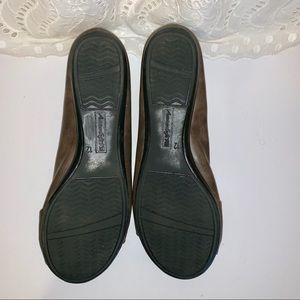 American Eagle Outfitters Shoes - American Eagle brown ballet flats size 12